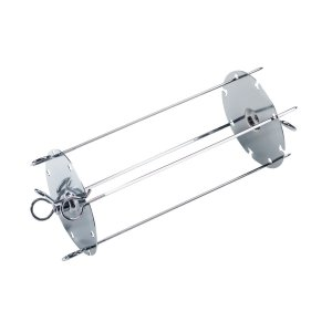 MieleKebab grilling device for grilling up to four skewers at the same time.