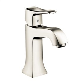 Polished Nickel Metris C Single-Hole Faucet without Pop-Up, 1.2 GPM
