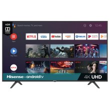 "58"" Class - H65 Series - 4K UHD Hisense Android Smart TV (57.5"" diag)"