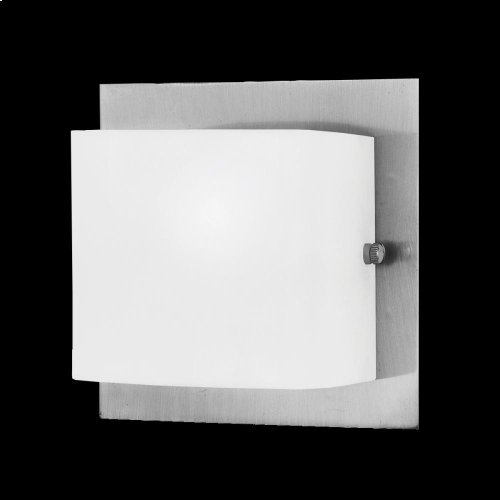 1-LIGHT WALL SCONCE - Satin Nickel