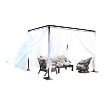 Milano Outdoor Cabana 11 ft. SQ Cabana