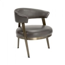 Adele Lounge Chair - Grey