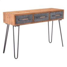 Metal Console Table Antique