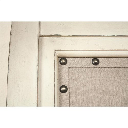 Huntleigh - Queen Storage Footboard - Vintage White Finish