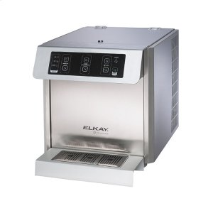 Fontemagna Compact Countertop Water Dispenser 20 GPH Filtered Stainless Steel Product Image
