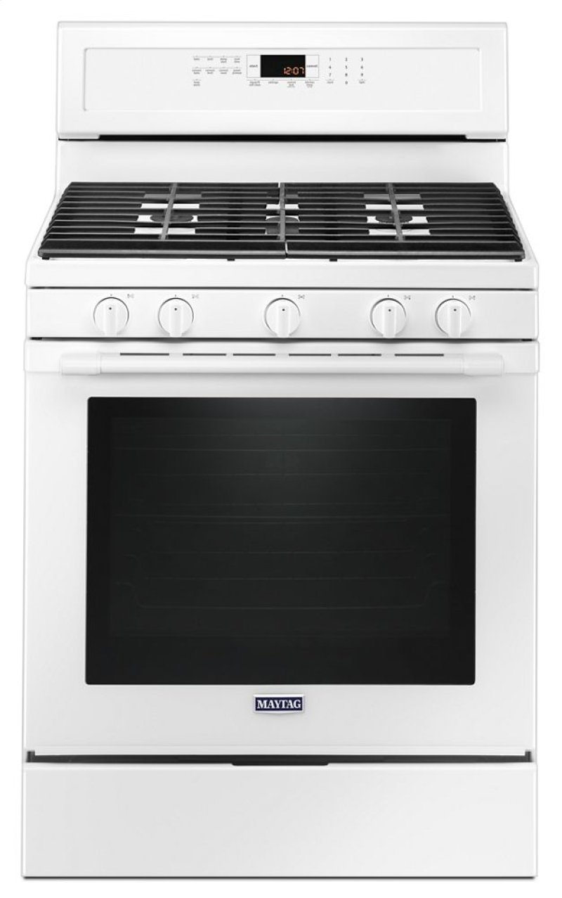30 Inch Wide Gas Range With True Convection And Preheat 5 8 Cu