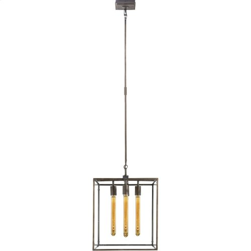Visual Comfort S5012AI Ian K. Fowler Belden 4 Light 16 inch Aged Iron with Wax Pendant Ceiling Light
