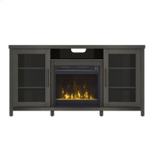 Rossville TV Stand with Electric Fireplace