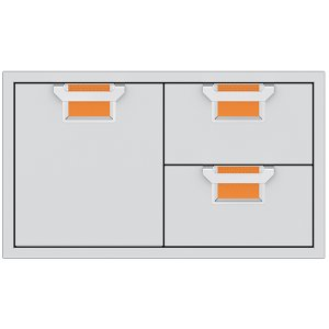 "Hestan36"" Aspire Combo Door/Drawer - AESDR Series - Citra"