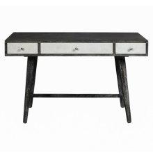Two Tone Ash/White Mid Century Desk