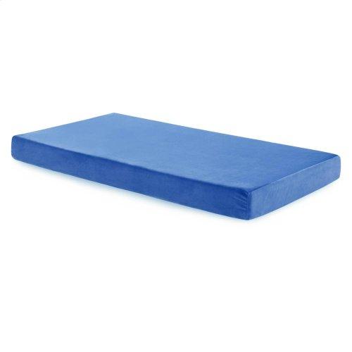 Brighton Bed Youth Gel Memory Foam Mattress - Twin Blue