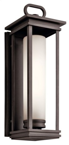 South Hope 2 Light Wall Lantern Rubbed Bronze