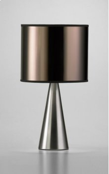 Manhattan Table Lamp Satin Nickel