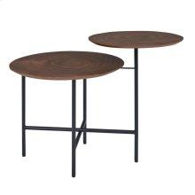 Myrtle KD End Table, Walnut *NEW*