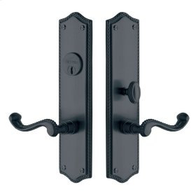 Oil-Rubbed Bronze Bristol Escutcheon Entrance Set