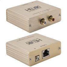 CAT-5E/CAT-6 Stereo Audio Balun