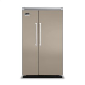 """Taupe 48"""" Side-by-Side Refrigerator/Freezer - VISB (Integrated Installation)"""