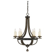 Alsace 6 Light Chandelier