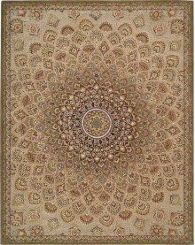 Nourison 2000 2262 Mtc Rectangle Rug 7'9'' X 9'9''
