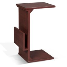 Chairside Table w/ Magazine Rack