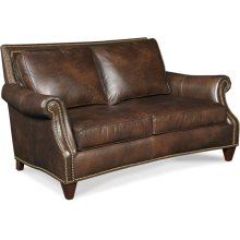 Bradington Young Bates Stationary Loveseat 8-Way Tie 568-75