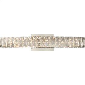 Gala Vanity Light in Polished Chrome