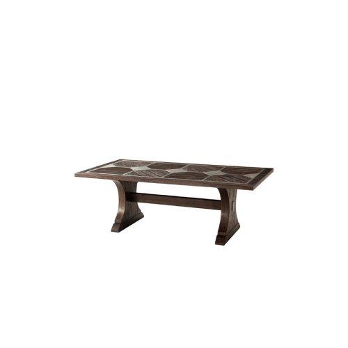 Telford Dining Table, Dark Echo Oak
