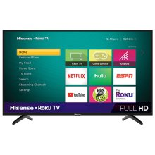 "40"" Class - H4 Series - Full HD Hisense Roku TV (39.5"" diag)"