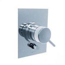Techno 35 - Pressure Balance Mixing Valve Trim - Polished Chrome