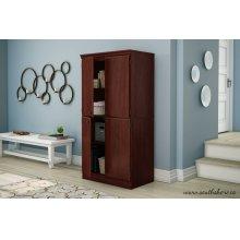 4-Door Storage Cabinet - Royal Cherry
