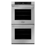 """27"""" Double Wall Oven, DacorMatch with Pro Style Handle (End Caps in Stainless Steel)"""