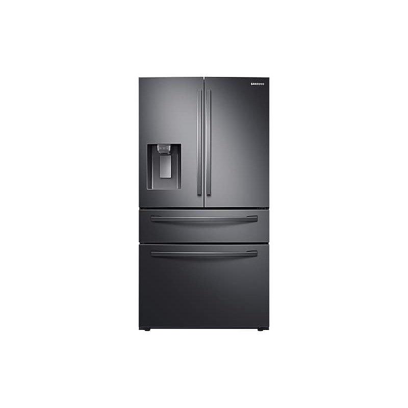 28 cu. ft. 4-Door French Door Refrigerator with FlexZone™ Drawer in Black Stainless Steel