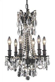 8206 Rosalia Collection Hanging Fixture Dark Bronze Finish