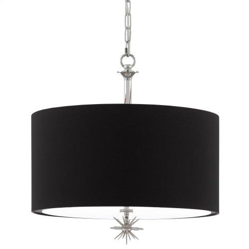 Chancery Black Pendant