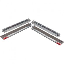 "3-1/2"" Height x 15"" Length Dura-Close® Metal Drawer Box System USE58-500 Series Undermount Slides"