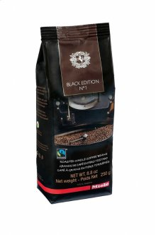 Miele BlackEdition N°1 250g Miele Black Edition N°1 selected and hand roasted for Miele