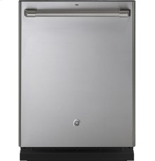 (LOANER FLOOR MODEL 1-ONLY) GE Cafe™ Series Stainless Interior Built-In Dishwasher with Hidden Controls