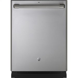 GE CafeStainless Interior Built-In Dishwasher with Hidden Controls