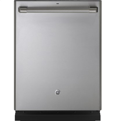 GE Cafe™ Series Stainless Interior Built-In Dishwasher with Hidden Controls Product Image