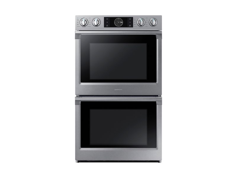 """Samsung Appliances30"""" Flex Duo Double Wall Oven In Stainless Steel"""