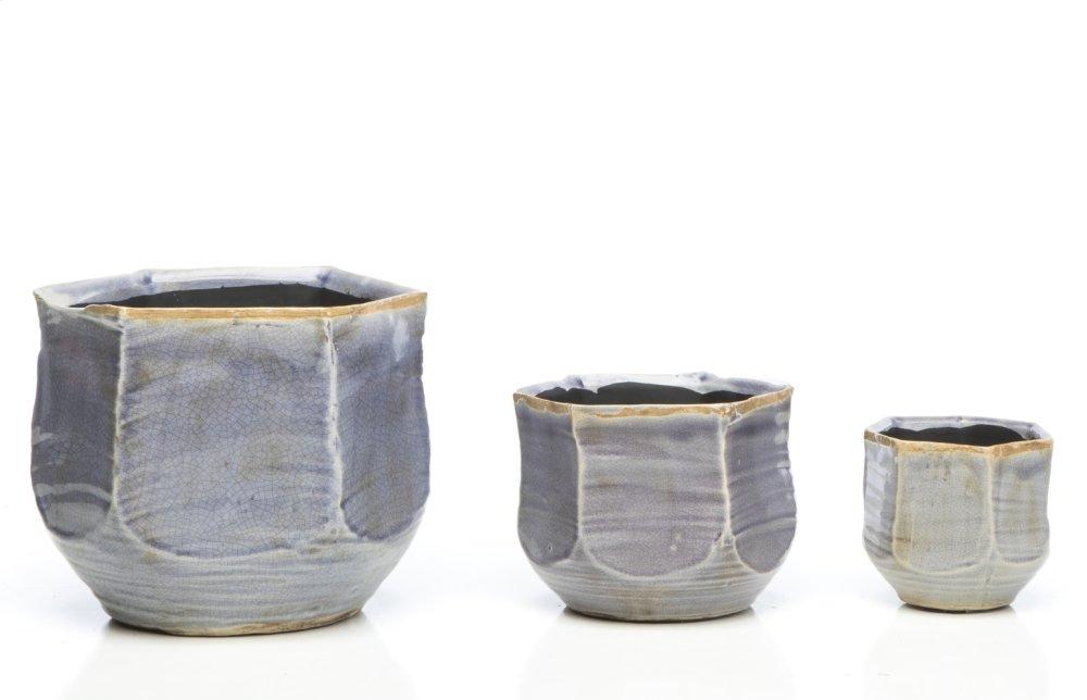 Good Earth Petits Pots, Rain - Set of 3 (Min 2 sets)