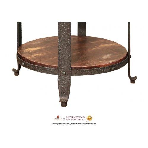 Round Sofa Table