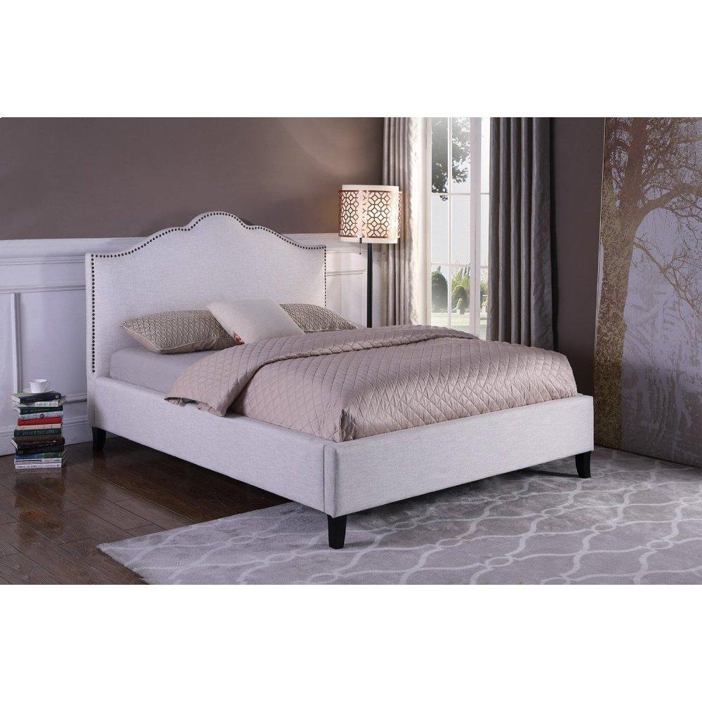 Jamie Flour (Natural) Queen Bed 5/0
