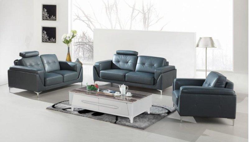 Amazing Divani Casa Markham Modern Grey Bonded Leather Sofa Set Uwap Interior Chair Design Uwaporg