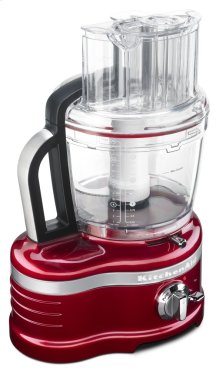 Pro Line® Series 16-Cup Food Processor with Die Cast Metal Base and Commercial-Style Dicing Kit - Candy Apple Red