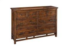 Wolf Creek Six Drawer Dresser