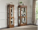 Large Oak Curio Product Image