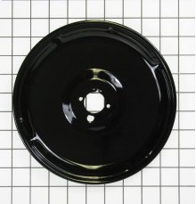 GAS BLACK PORCELAIN BURNER BOWL MEDIUM