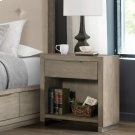 Zoey - One Drawer Nightstand - Urban Gray Finish Product Image
