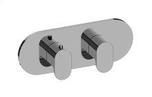 Ametis M-Series Valve Horizontal Trim with Two Handles